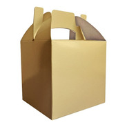 Cajita Feliz Cfz1-o Color Oro X 100u Packaging Dorado