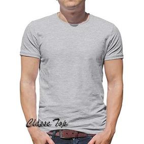 Camiseta Blusa Lisa Mescla