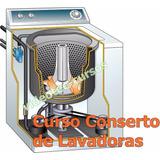 Curso Conserto De Lavadora De Roupas Em Vídeo Aulas 3 Dvds