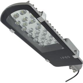 Luminária Pétala Led 24w 12v Iluminação Pública Painel Solar