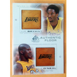 2000-01 Sp Game Floor Combo Kobe Bryant Shaquille O´neal C25