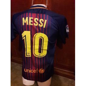 11d2fa10ce0f7 Messi 10 - Tipografia Barcelona Usado en Mercado Libre México