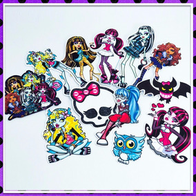 Monster High Apliques, Tags E Toppers R$0,35 Unidade