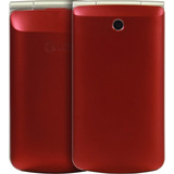Telefone Celular Lg G360| 2 Chips| Rádio Fm| 1,3mp| Vermelho