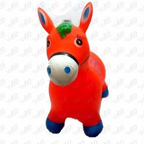 Cavalinho Upa Upa Brinquedo Cavalo Inflável C/ Som Novo Nfe
