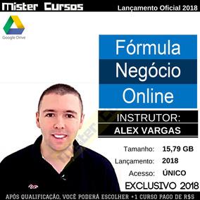 Fórmula De Negócio Online - Alex Vargas 2018 Completo