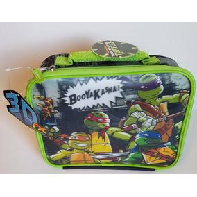 Lonchera Tortugas Ninjas 3d ...original