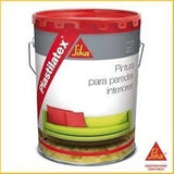 Pintura Para Interiores Plastilatex Sika ¡300 Colores! 4 Lts