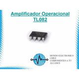 5 X Amplificador Operacional Tl082(con Boleta)