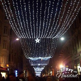 Iluminacion Luz Led Blanca Fria X100 Navideña Fiestas Bodas