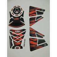 Calcomanía Protector De Tanque Ktm Duke 200 Y 390
