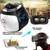 Camara 360° 4k Wifi Protector Sumergible Y Accesorios