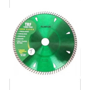 Disco Diamantado 7puLG  Turbo Fino Aliafor Trf Porcelanato