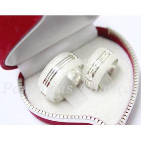 Aliança Prata Lindas Anatômicas Diamantadas 10mm Pedras !