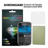 Lamina Protectora Pantalla Blackberry Bold Bb 9000 + Paño