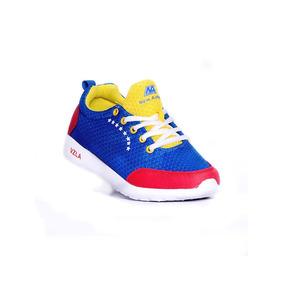 Zapatos Deportivos. Linea Tricolor