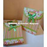Bolsas Bolsitas Carton Con Moño Oferta Cotillon Souvenirs