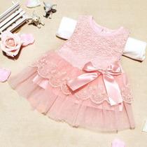 Vestido De Festa - Batizado E Eventos Infantis
