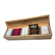 Caja De Madera Delhi Tea X 60 Saquitos - Linea Completa -