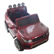 Auto Camioneta A Bateria 12v 4x4 Opción Control Remoto Y Mp3