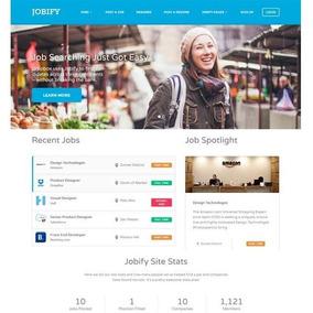 Tema Wordpress Jobify Job Board [site De Empregos] V-3.7.1