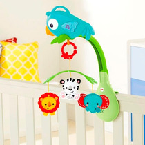 Movil Musical 3 En 1 Fisher Price P/cuna Y Cochecito Chr11