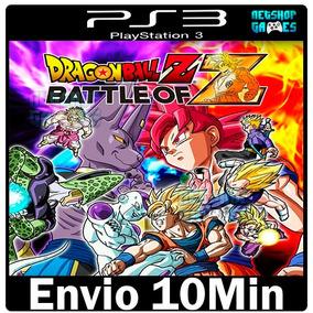 Dragon Ball Z Battle Of Z Original Ps3 Cod Psn Envio Na Hora
