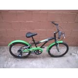Bicicleta Bike Caloi Ben 10 Aro20 7 Velocidades Nova