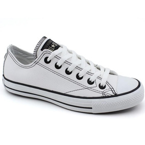 Sapato Tênis All Stars Converse Couro Casual Confortável