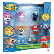 Figura Básica Súper Wings 8 Pack Fotorama