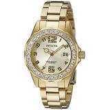 Invicta Mujer 21397 Pro Diver 18k Oro Ion-plateado Reloj De