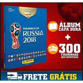 Álbum Da Copa Capa Dura + Box E 300 Figurinhas Sem Repetir