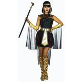 Disfraz Mujer Faraona Talla M Dd024 Egipcia Halloween