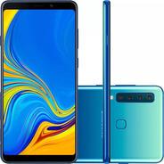 Smartphone Samsung Galaxy A9 128gb Preto Tela 6.3   2019