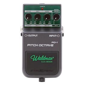 Pedal Para Guitarra Waldman Pich Octave Controles Drive Oct