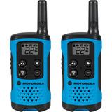 Rádio Comunicador Talkabout Motorola 25km T100br Azul