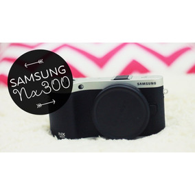 Smart Câmera Samsung Nx300 20.3mp Wi-fi 3.31 Full Hd S Lente