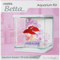 Bettera Mod. Marina Hagen Flores 2 Lts Kit Betta Pecera