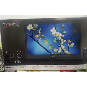 Television Supersonic 15.6 Led Hdtv