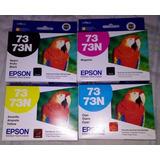 Pack Completo Tintas Originales Epson Cartuchos 73 Oferta¡¡¡