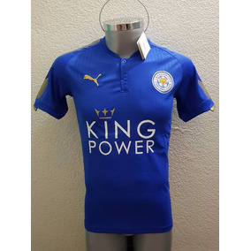 Jersey Playera Leicester City Local 2018 Premier Foxes