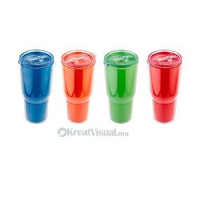 50 Vasos De Plástico Aoba Impresos A 1 Tinta. Paquete