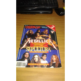 Revista Y Posters Y Clipping De Metallica Y Sepultura Gusx