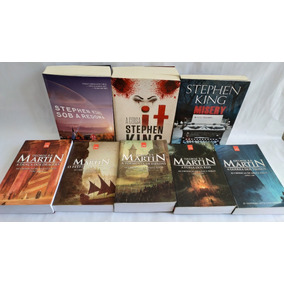Box 8 Livros Game Of Thrones + It A Coisa + Stephen King (2)