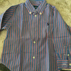 Camisa Xadrez Menina Ralph Lauren 2 Anos - Camisa Manga Longa no ... a6bbfb97f41