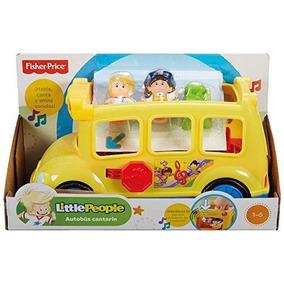 F P Little People Tractor Sonidos Sorpresa Autobus