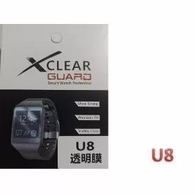 Película De Vidro Protetora P/ Relógio Smart Watch U8