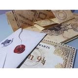 Mapa Del Merodeador + Carta Hogwarts + Boleto Estación 9 3/4