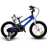 Bicicleta Niño Aro 16 Royal Baby Azul