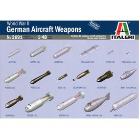 Accesorios Italeri German Aircraft Weapons 1/48 Kit 2691